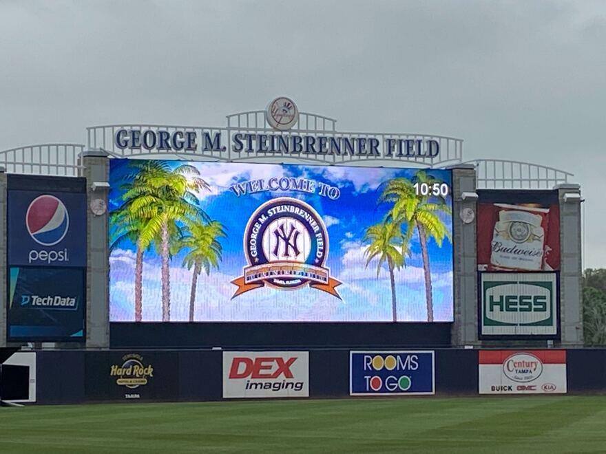 Logo on screen