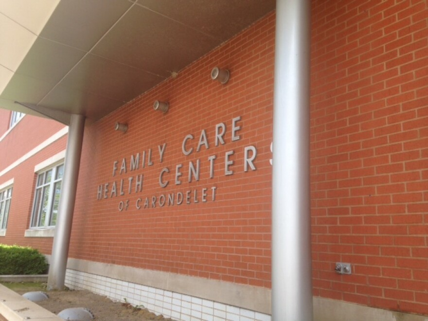 Family Care Health Centers is a large, brick building in the Carondalet neighborhood.