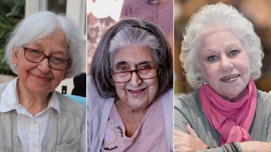 From left to right: Margaret Nielsen, Nancy Artinian Theoharis, Ina Pinkney.