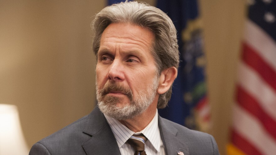 Gary Cole plays political consultant Kent Davidson on the HBO series <em>Veep</em>.