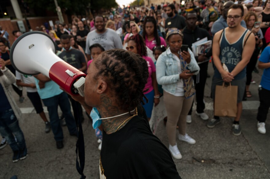 With frustration and anger still boiling over the acquittal of former St. Louis police officer Jason Stockley, protesters returned to the streets Sunday to make themselves heard.
