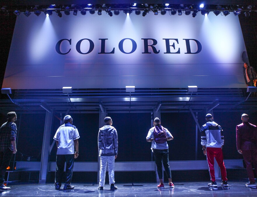 A performance of <em>Thoughts of a Colored Man </em>at Baltimore's Center Stage in October 2019.