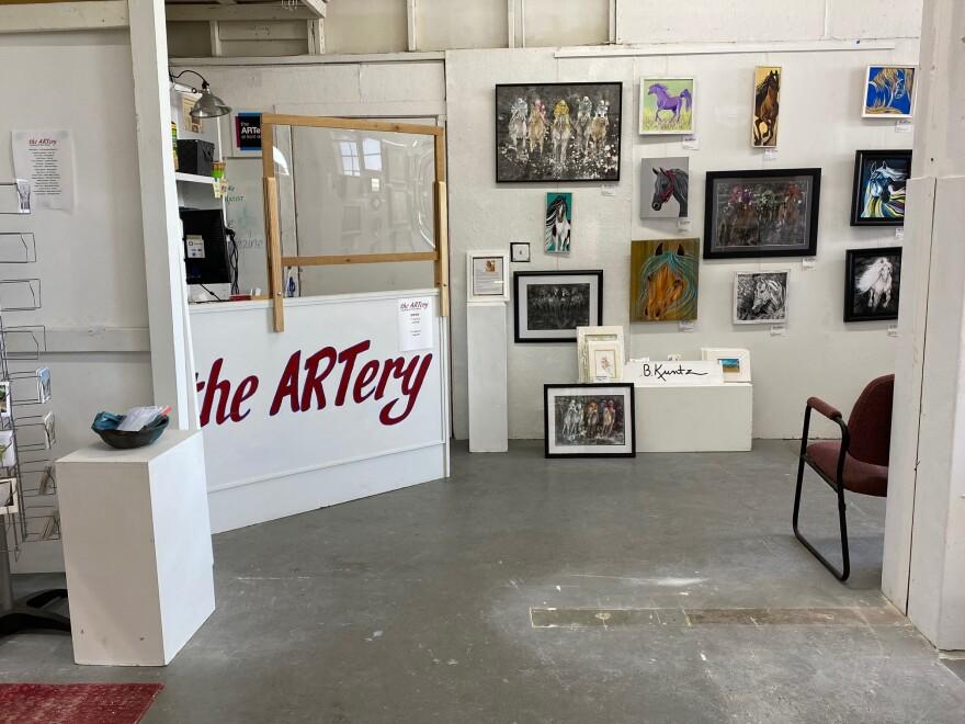 The Artery Dayton gallery