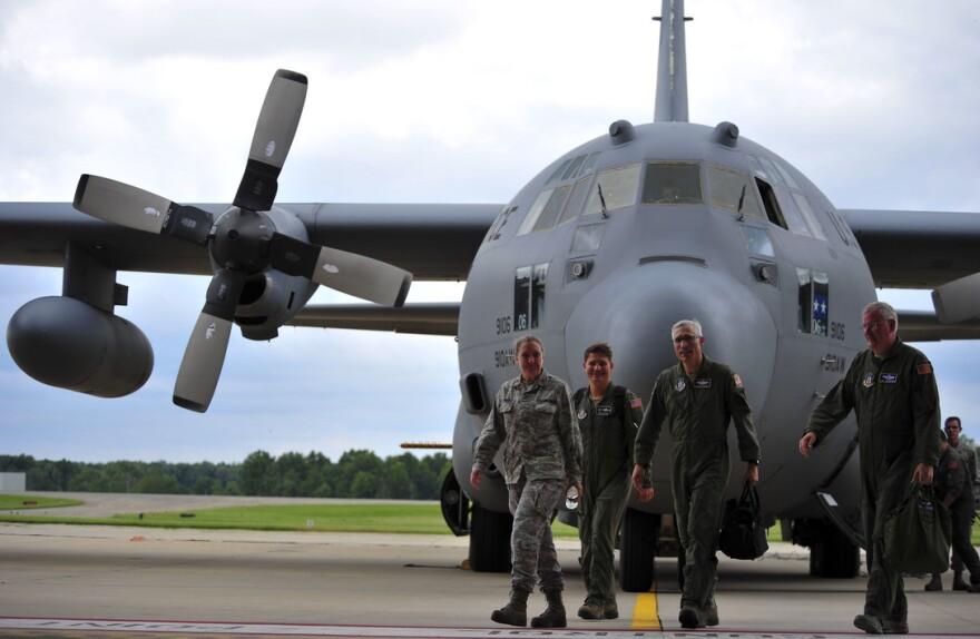C-130 Hurcules flown by 910th