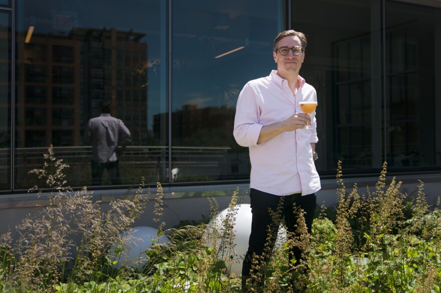 Derek Brown, a Washington, D.C., bartender and author of the book <em>Spirits, Sugar, Water, Bitters: How the Cocktail Conquered the World.</em>