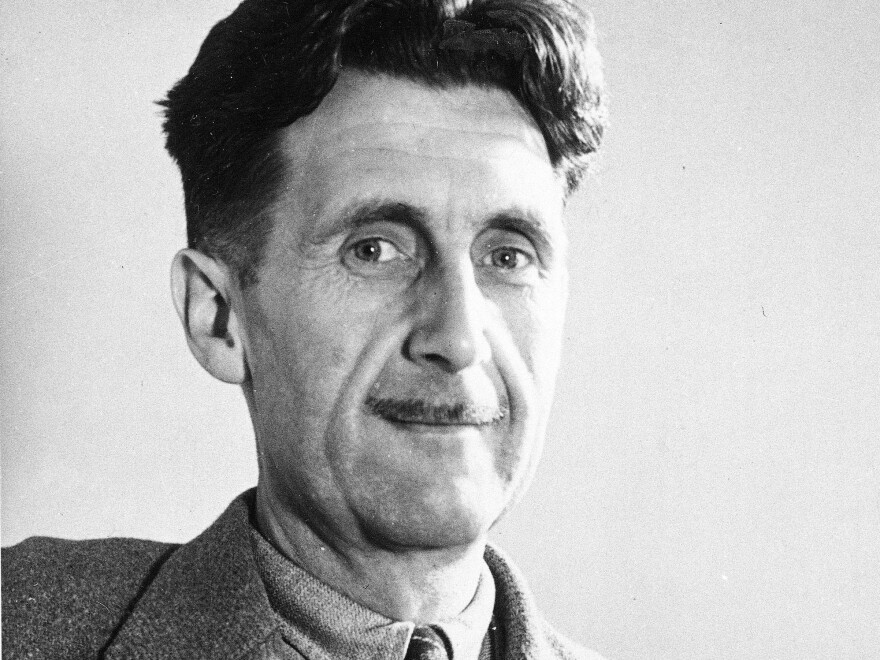 A quote from George Orwell escalates the dispute between online retailer Amazon and publisher Hachette.