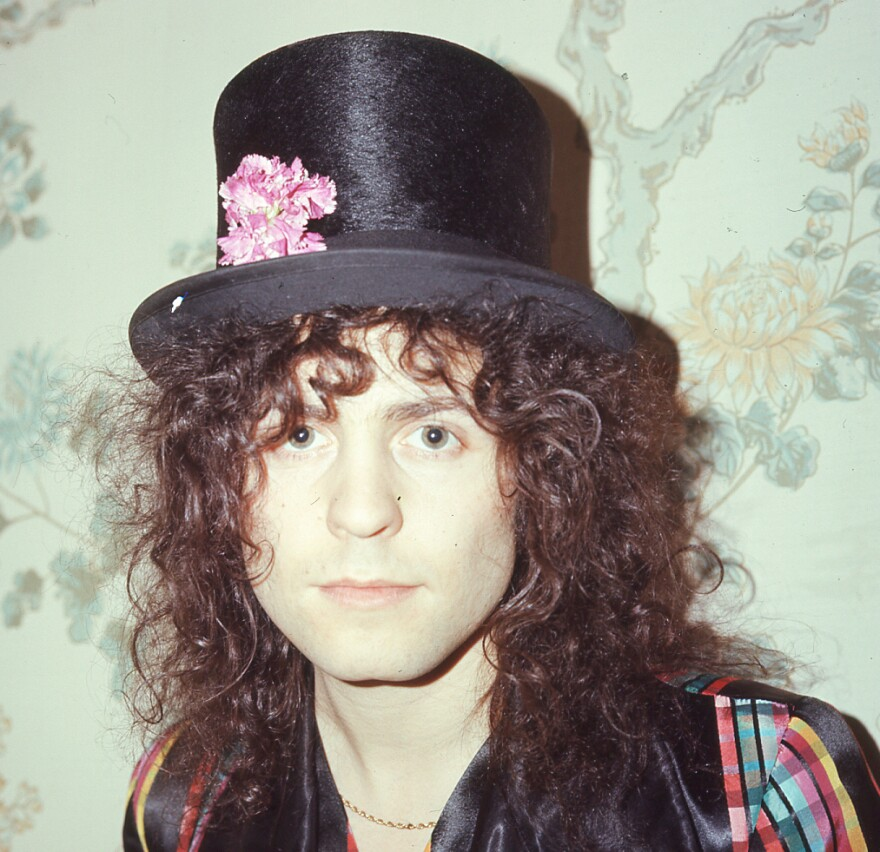 T. Rex singer and songwriter Marc Bolan is the muse of Hal Willner's final tribute project, <em>AngelHeaded Hipster</em>.