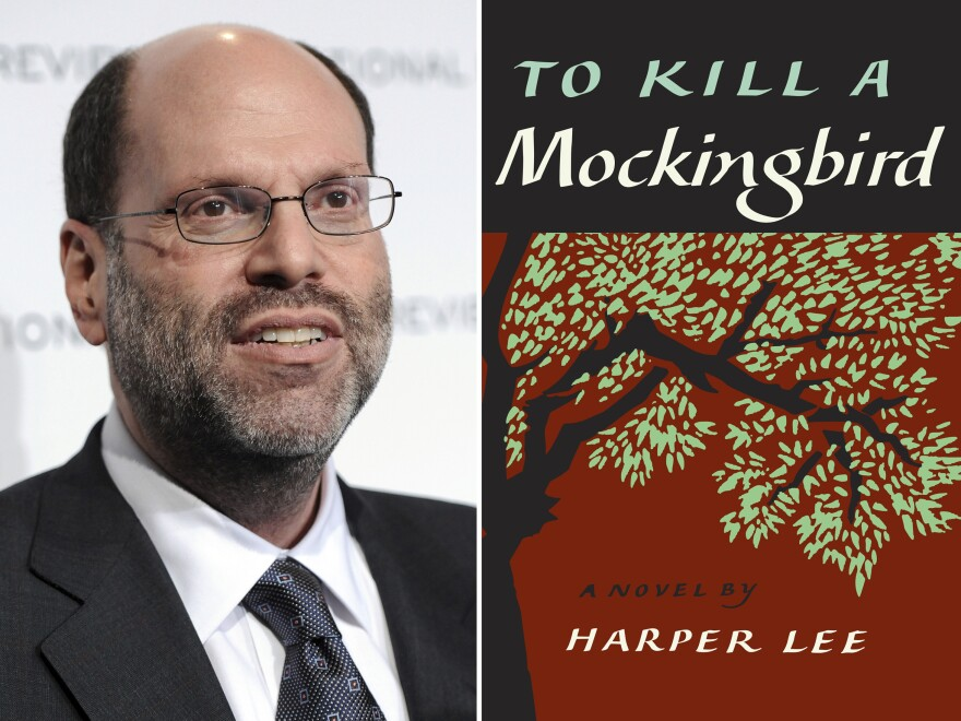 Lawyers for Broadway producer Scott Rudin (left) claim his production of <em>To Kill a Mockingbird</em> is the only one that can be performed near a major city.