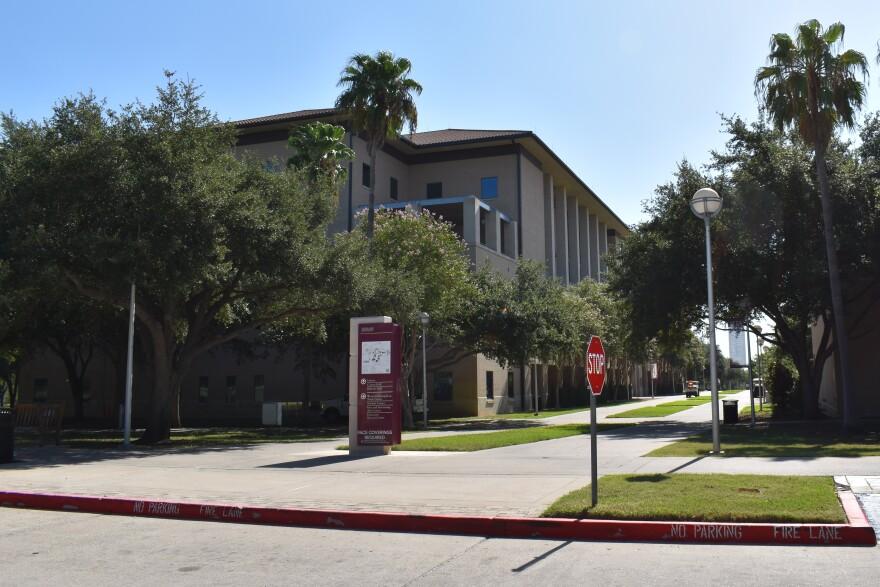 The Texas A&M International University Campus on Aug. 13, 2020.