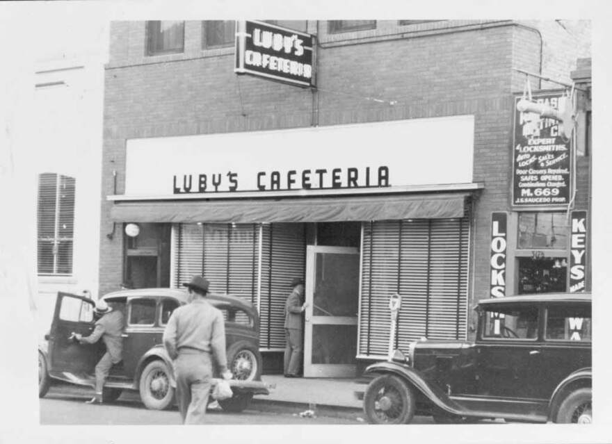 Boby Luby opened the first Luby's Cafeteria in Texas in San Antonio in 1947. But his father Harry had started opening restaurants in Missouri beginning with one in Springfield in 1911 and later expanded to Texas.
