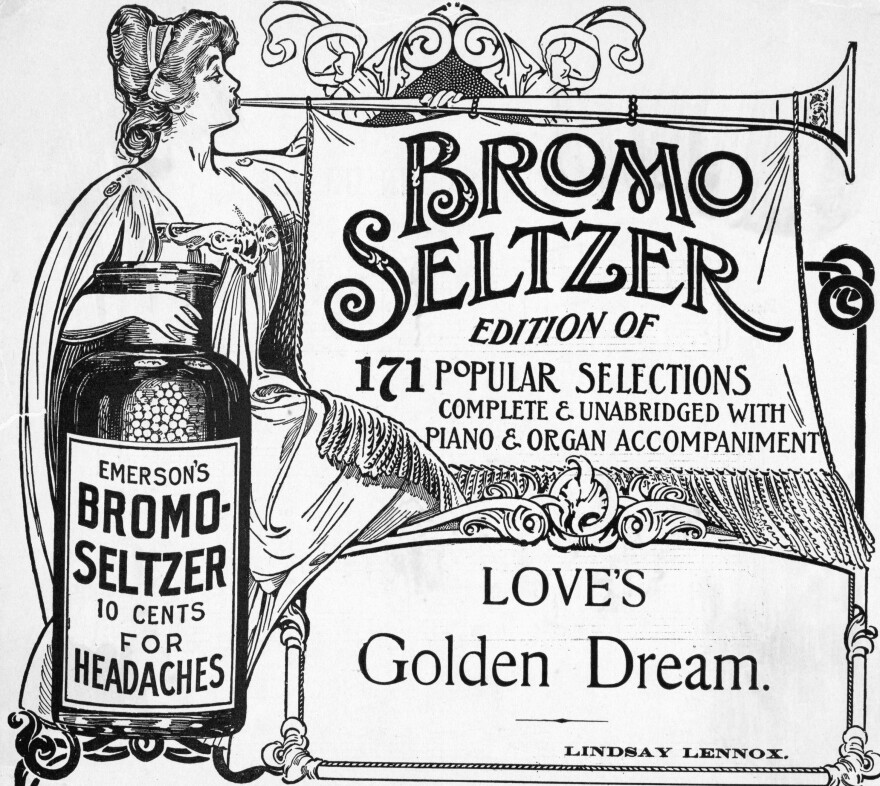 An ad for Emerson's Bromo-Seltzer.