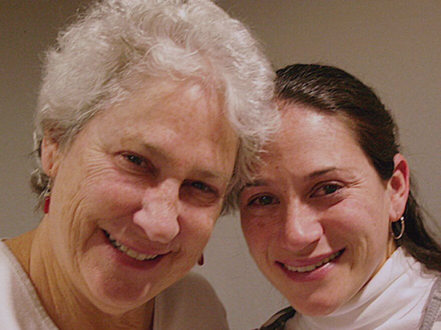 Carol Kirsch and her daughter, Rebecca Posamentier, visited StoryCorps in 2008. Posamentier visited again recently.