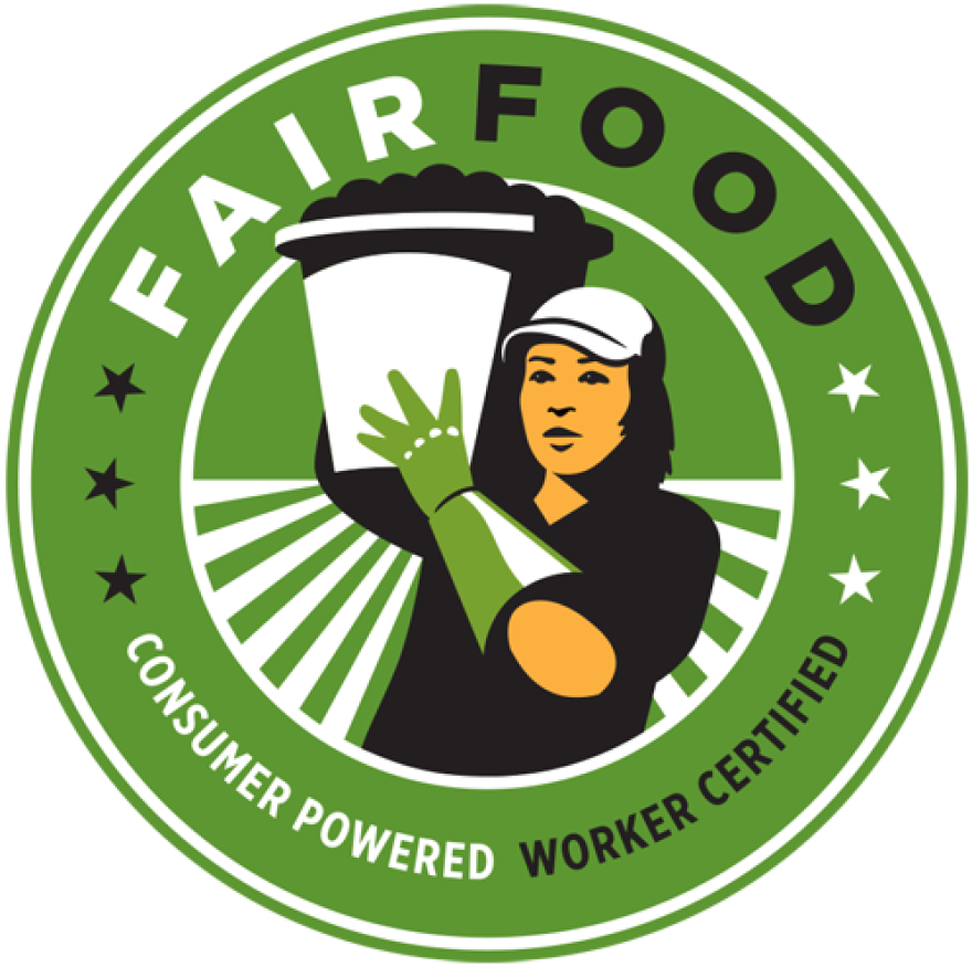 This label was released in October 2014 by the Coalition of Immokalee Workers for the Fair Food Program.