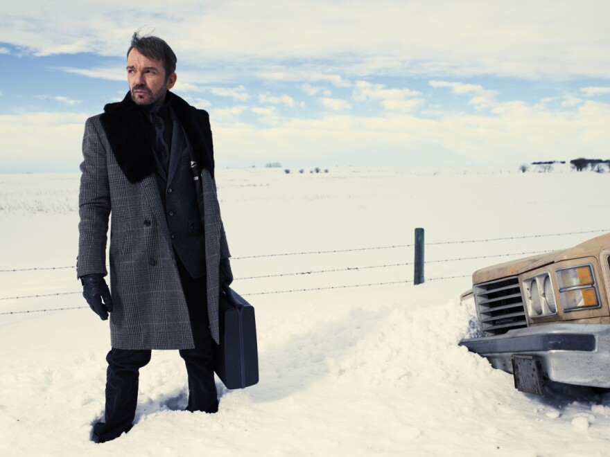 Billy Bob Thornton in FX's <em>Fargo,</em> an adaptation that works by lifting the tone of the film, not the story.