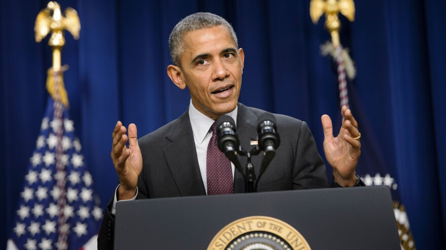 President Obama speaks about the gap in pay between men and women on Friday, as he introduced a new proposal that would require large companies to disclose data about employee pay by race, gender and ethnicity.