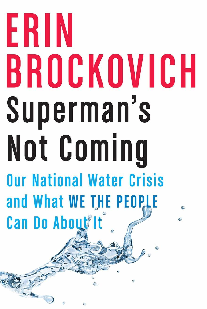 <em>Superman's Not Coming: Our National Water Crisis and What We the People Can Do About It,</em> by Erin Brockovich