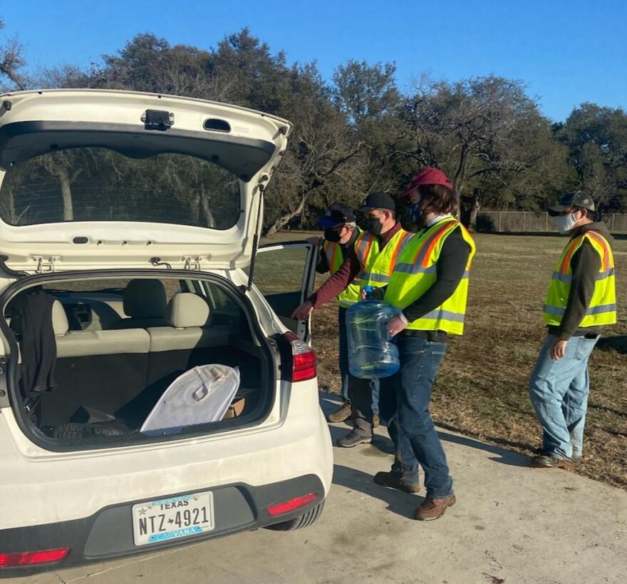 San Antonio Water Distribution Site