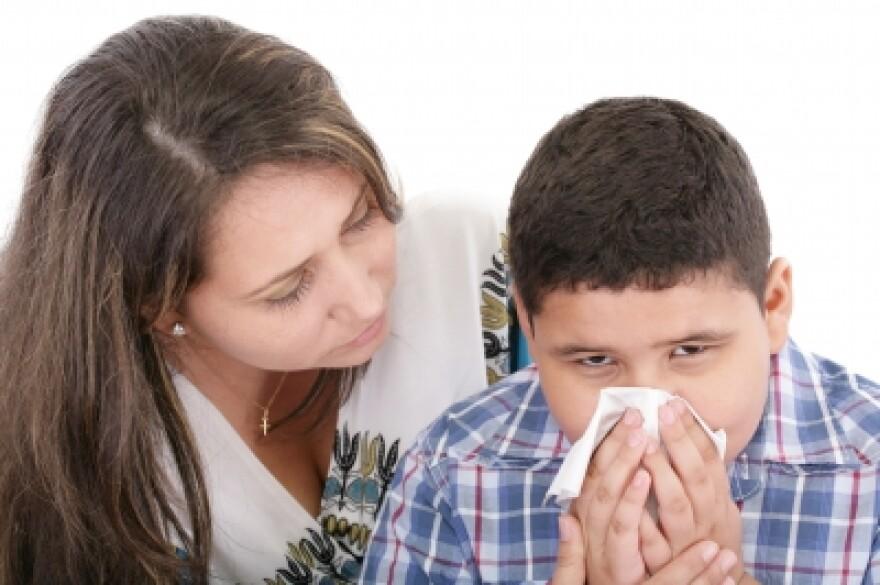 It's flu shot season.