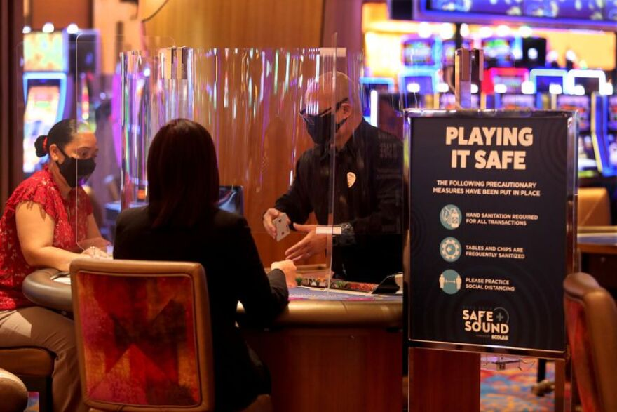 "The Seminole Hard Rock Hotel & Casino in Hollywood is keeping up to 1,527 on furlough due to business uncertainties generated by the COVID-19 pandemic. The resort reopened June 12 with a ""Safe and Sound"" program that includes strict guidelines after being closed for weeks."
