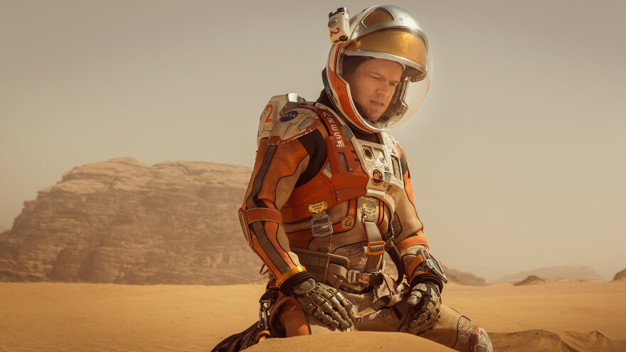 Astronaut Mark Watney (Matt Damon) faces insurmountable odds as he tries to survive on a hostile planet.
