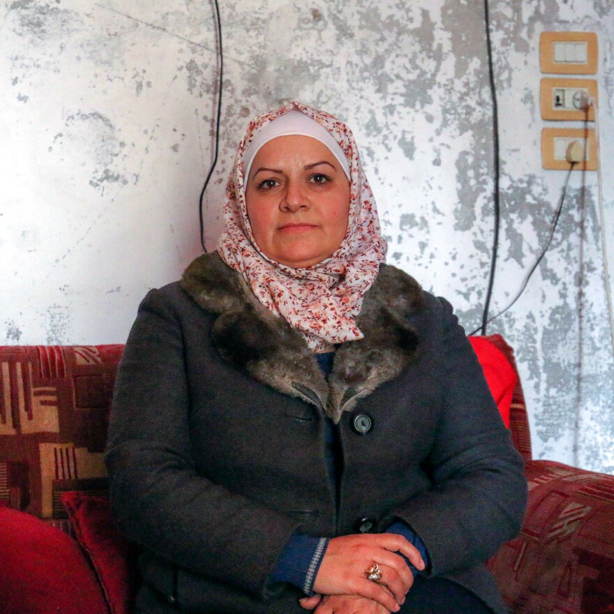 """It is a very, very sad thing when my son says to me, 'Mum, I don't want to die,'"" says Etab Hadithi."