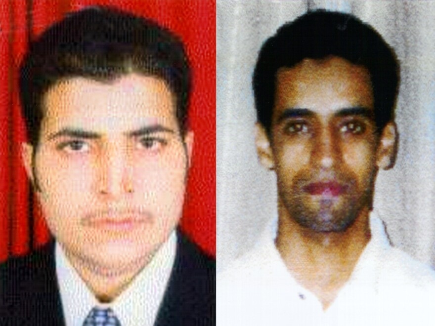 Brothers Hamza (left) and Ahmed al-Ghamdi were among the hijackers of United Airlines #93 that crashed in rural Pennsylvania on Sept. 11, 2001.