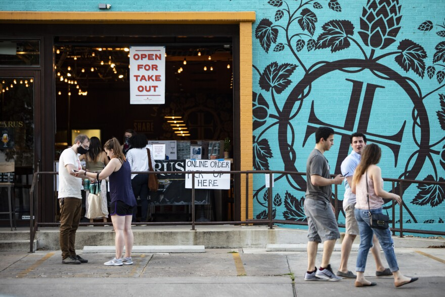 East Austin bars and restaurants began to reopen May 22, including Lazarus Brewing Co.
