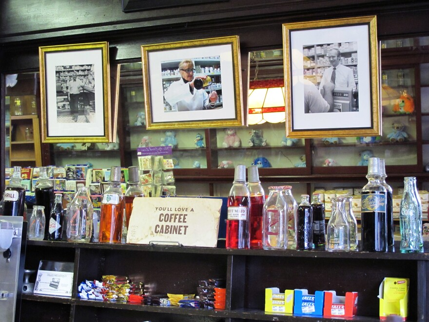 Coffee cabinets are a popular order at Delekta's, an old-school soda fountain and pharmacy in Warren, R.I. (You can still fill prescriptions in the back.)