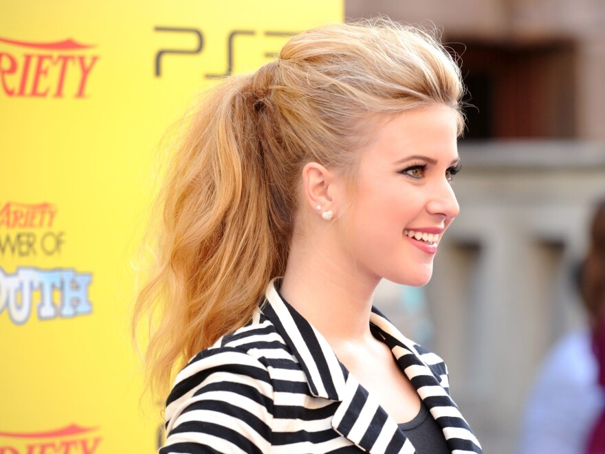 Caroline Sunshine attends an event in Hollywood, Calif., in 2011. The 22-year-old has joined the Trump administration as a press assistant.