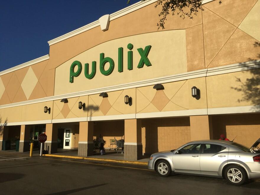 front of publix store