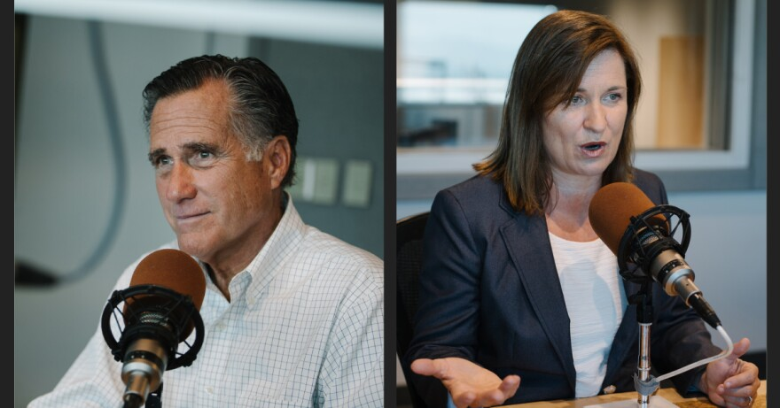 Romney Wilson Side By Side Photo