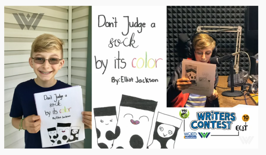 """""""Don't Judge A Sock By Its Color"""" is a story about accepting other people just as they are."""