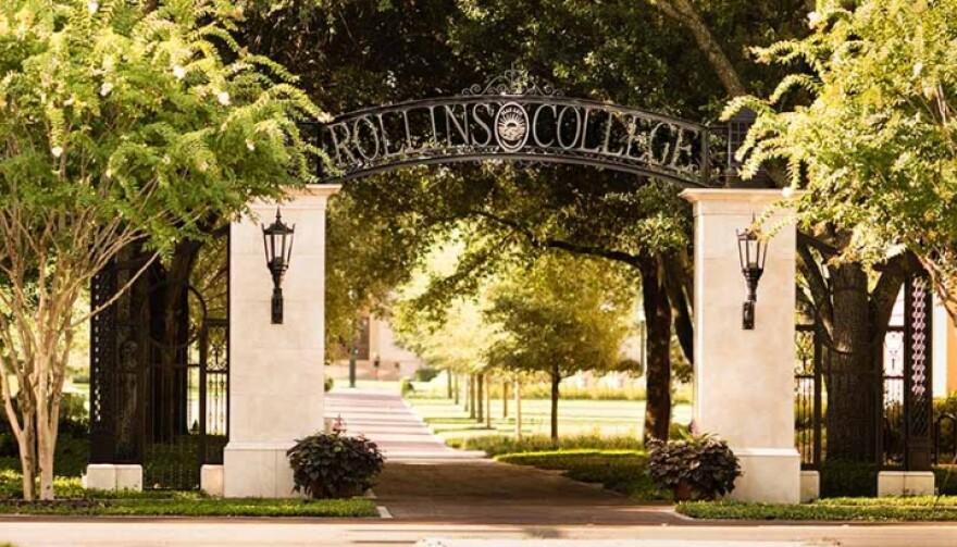 Rollins College archway