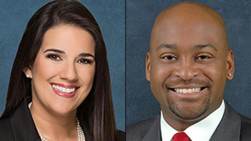 Republican Sen. Anitere Flores (l) and Democratic Sen. Oscar Braynon (r) admit, apologize for affair. 1/9/17