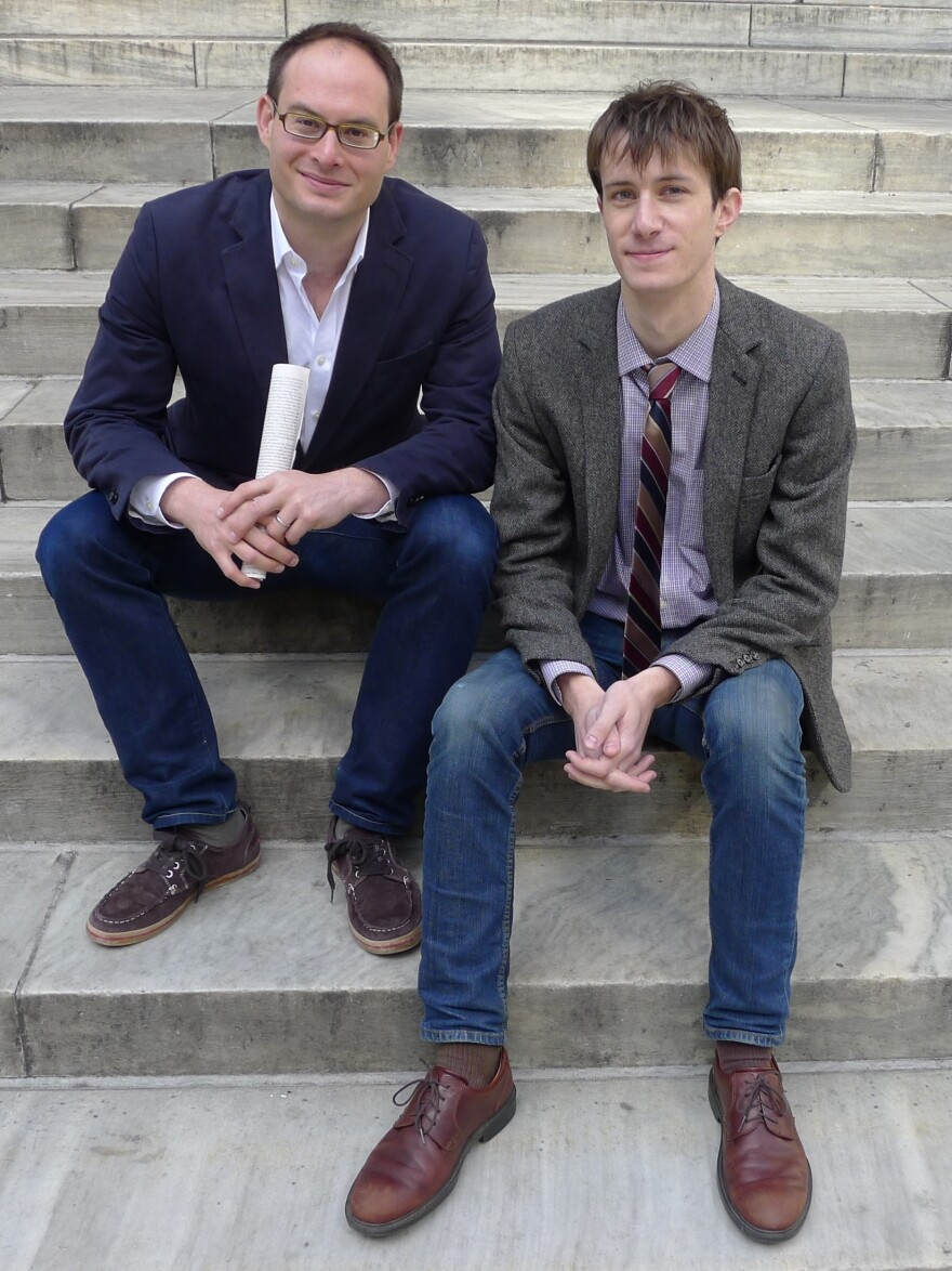 Franklin Foer (left) is the editor of <em>The New Republic, </em>where Marc Tracy (right) is a staff writer.