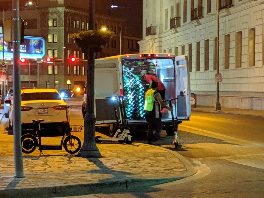 How scooters are collected and deployed plays a significant role in their carbon impact. San Antonio forces scooters to be collected each night from specific areas.