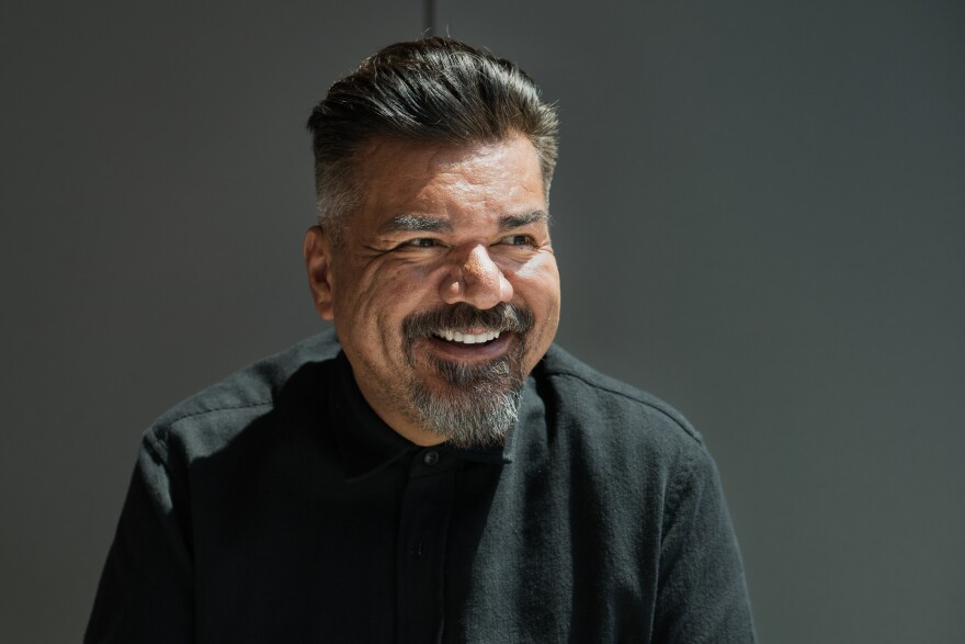 George Lopez visited NPR's headquarters in Washington, D.C.