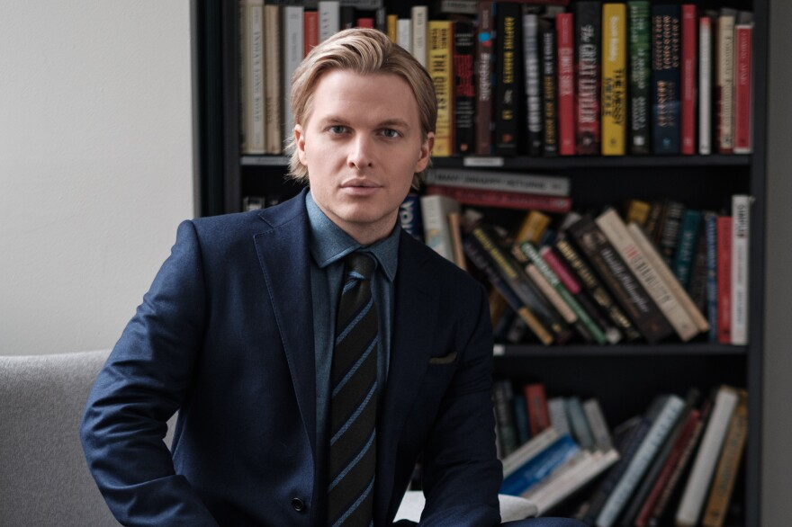 Pulitzer Prize-winning investigative journalist Ronan Farrow.