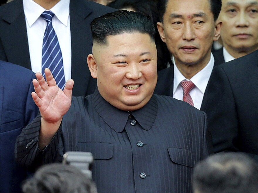 North Korean leader Kim Jong Un in Vietnam on Tuesday ahead of his meeting with President Trump. Dutch customs officials say they seized 90,000 bottles of Russian vodka en route to the communist country. Such exports are prohibited under U.N sanctions.