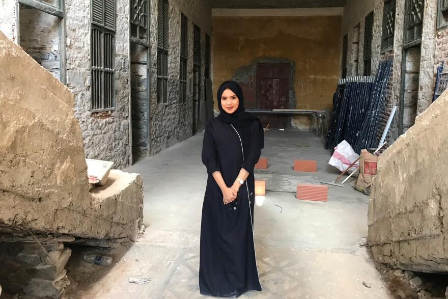 Reem Almodian, 22, says her dream was to perform on Broadway or in front of a camera. She decided to go behind the camera instead and enrolled in Saudi Arabia's only film school, at the all-female Effat University.