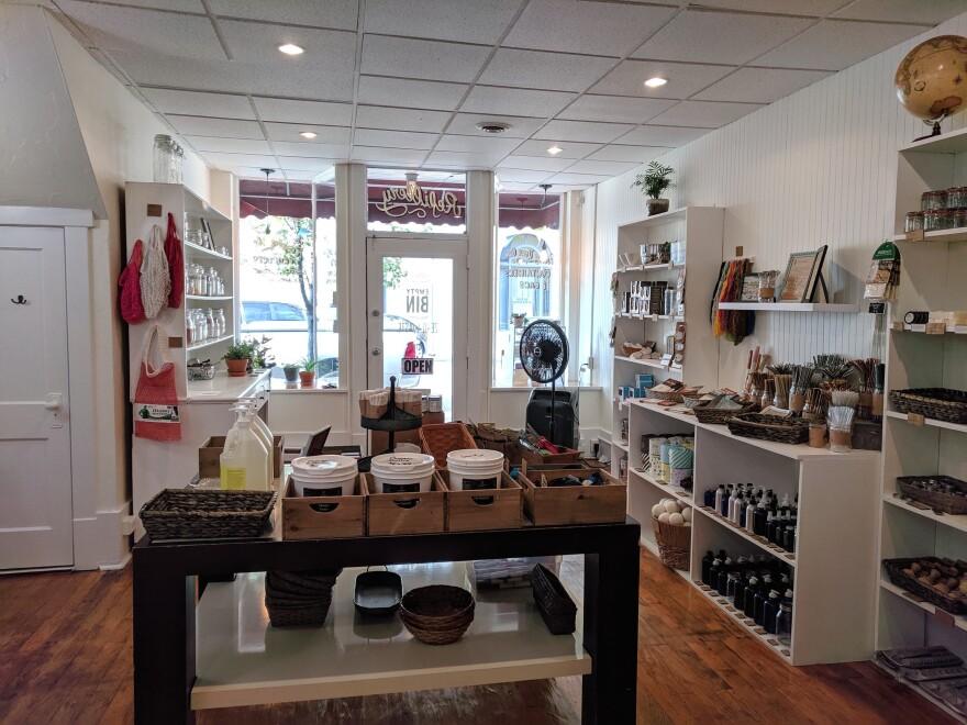 photo of store interior of Empty Bin Zero Waste