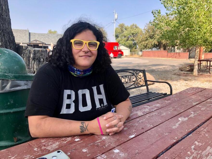 Kari Davi was born in Rawlins and now lives in Saratoga. She feels she's often treated differently in the rural West because of her untraditional appearance.