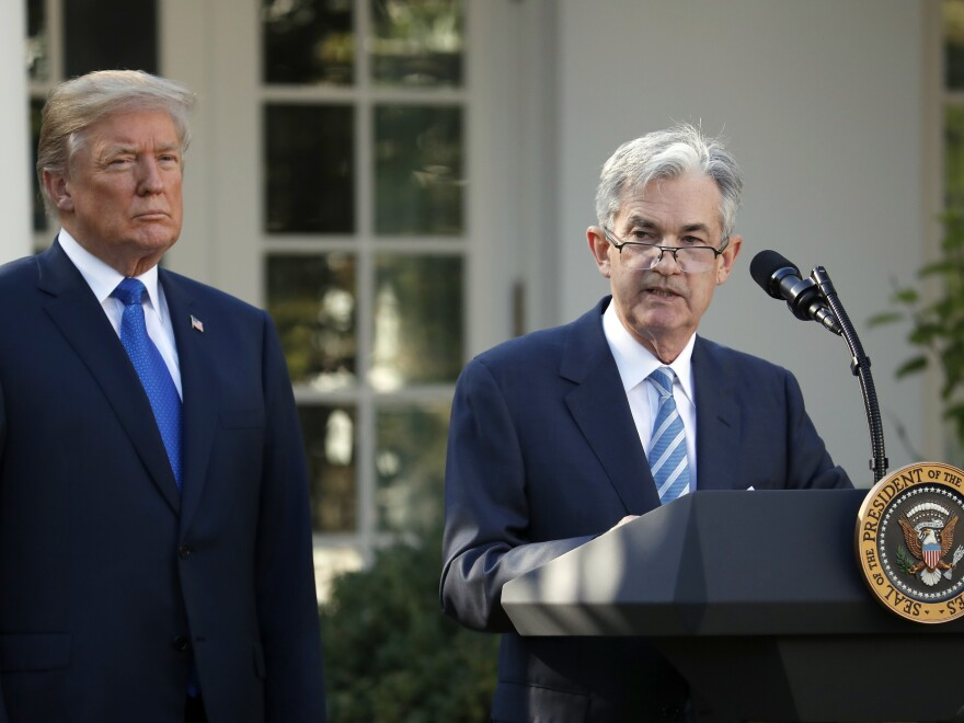 President Trump nominated Jerome Powell as Federal Reserve chairman, but the president has often criticized Powell over Fed policy.