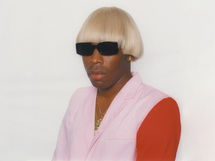 Tyler, The Creator. His latest album, <em>IGOR </em>is on our list of the best albums out in May.