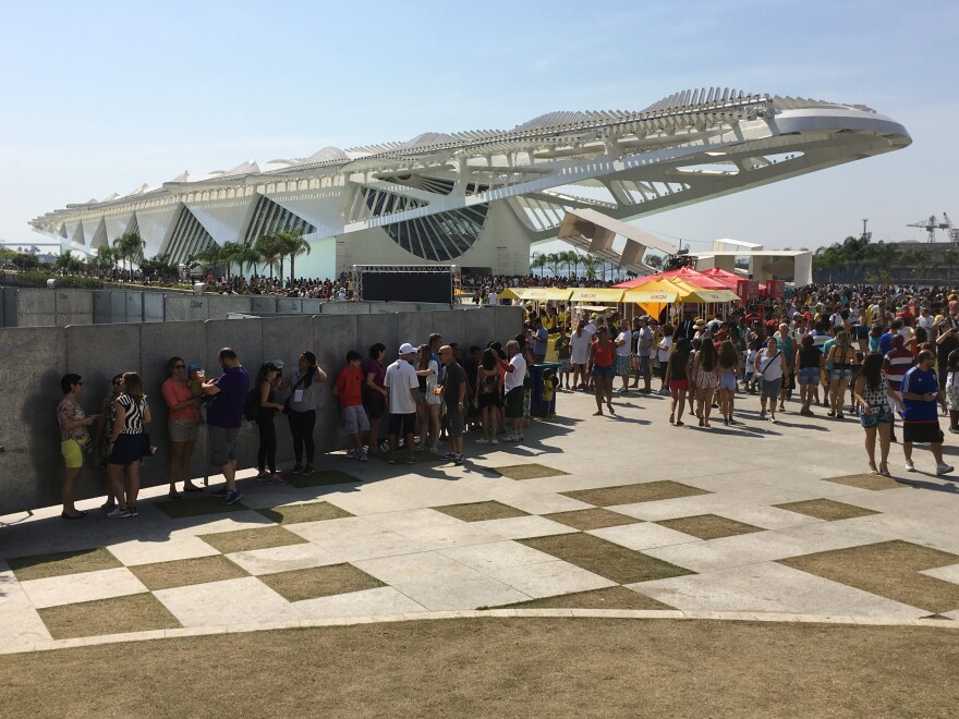 In Rio de Janeiro, the Museu do Amanha — the Museum of Tomorrow — has become a new landmark in the renovated port. It anchors the Olympic Boulevard, nearly 2 miles long.