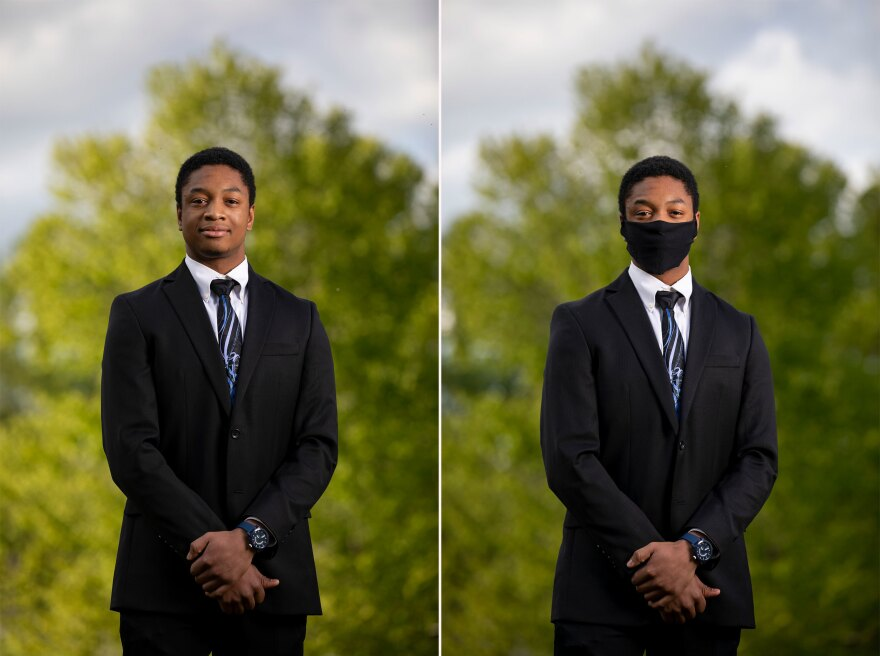 Timothy Bowser, 17, Tuscarora High School in Leesburg, Va.