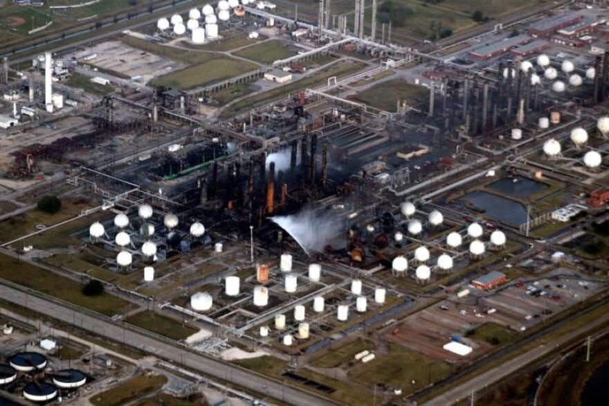 TPC Group Port Neches facility