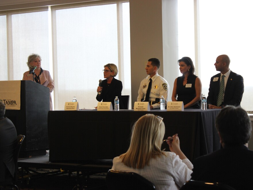 The Greater Tampa Chamber of Commerce recently hosted a summit on human trafficking. We hear highlights on this week's Florida Matters.