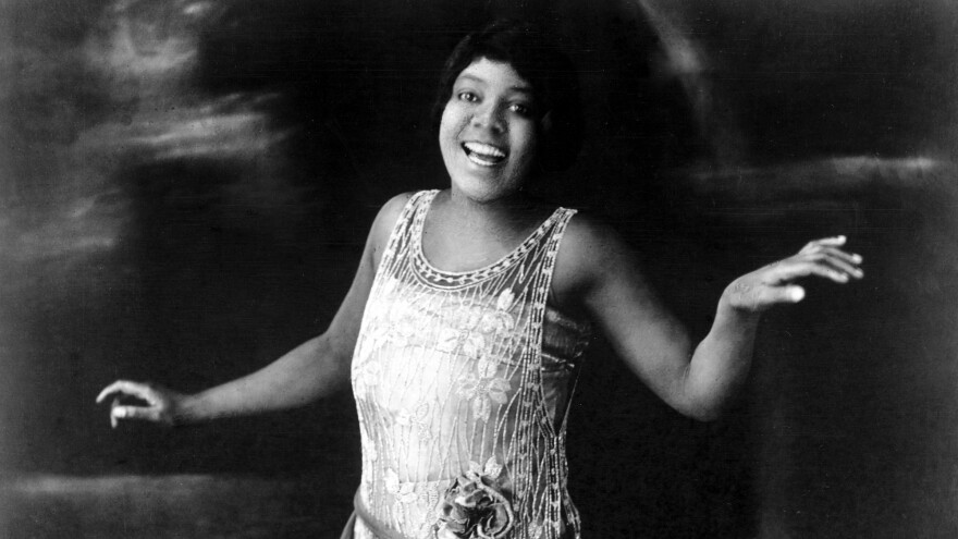 Bessie Smith poses for a portrait circa 1925.