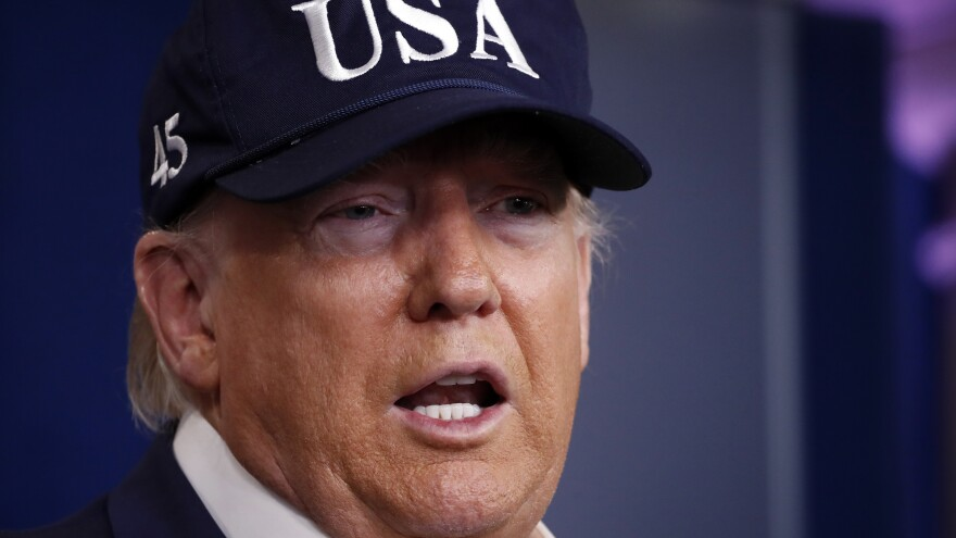 President Trump previously banned most travel from China and from more than two dozen European nations and closed the borders with Canada and Mexico for most nonessential travel.